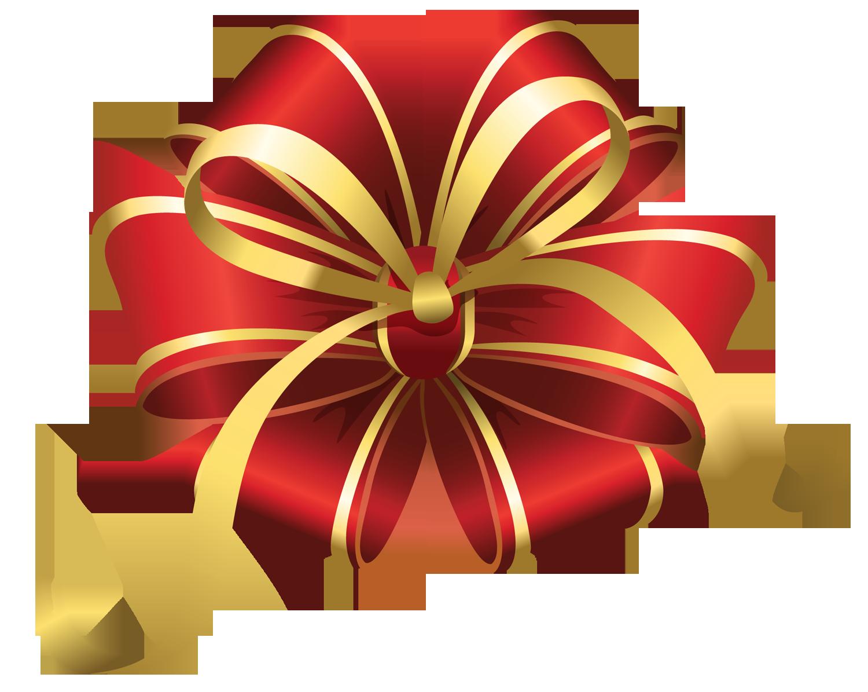 Bows clipart xmas. Transparent christmas red decorative