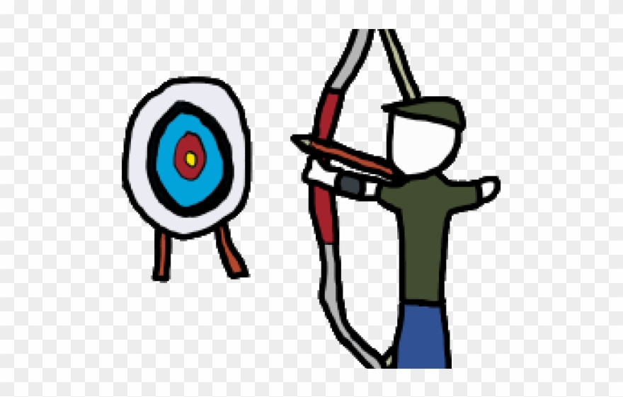 Png download . Archery clipart bow target arrow