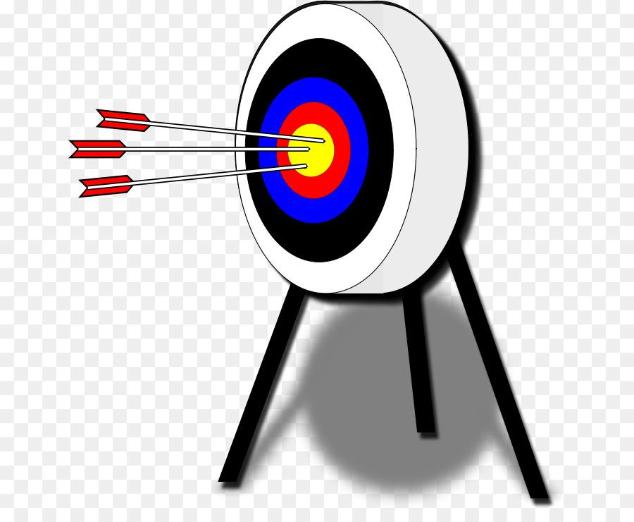 archery clipart bow target arrow