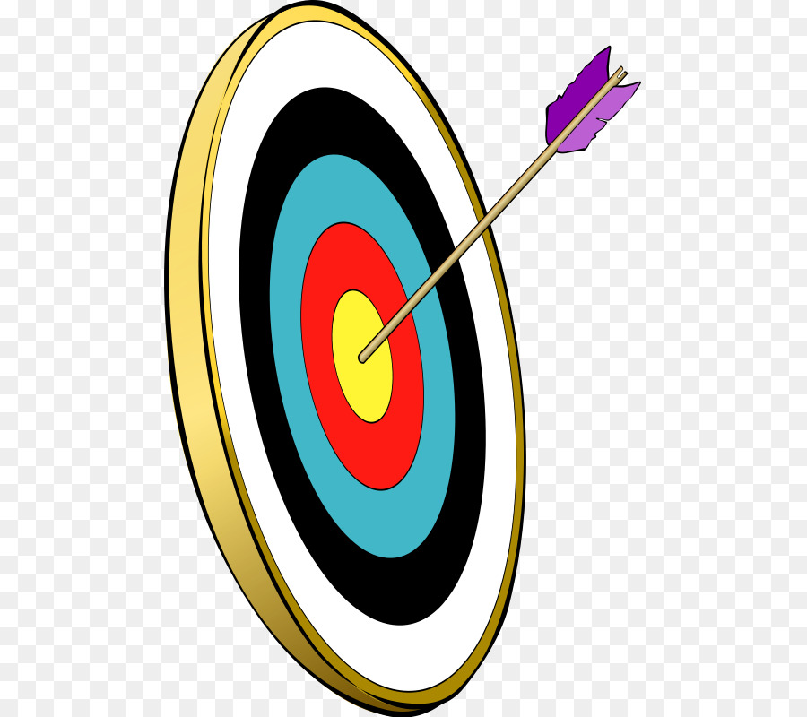 Hunting clip art cliparts. Archery clipart bow target arrow