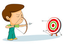 Archery clipart bow target arrow. Sports free to download