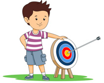 Sports free archery to. Bows clipart kid