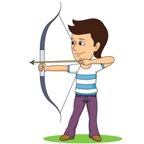 Sports free to download. Archery clipart boy