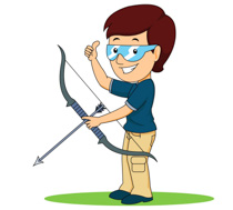 Bows clipart archery. Sports free to download