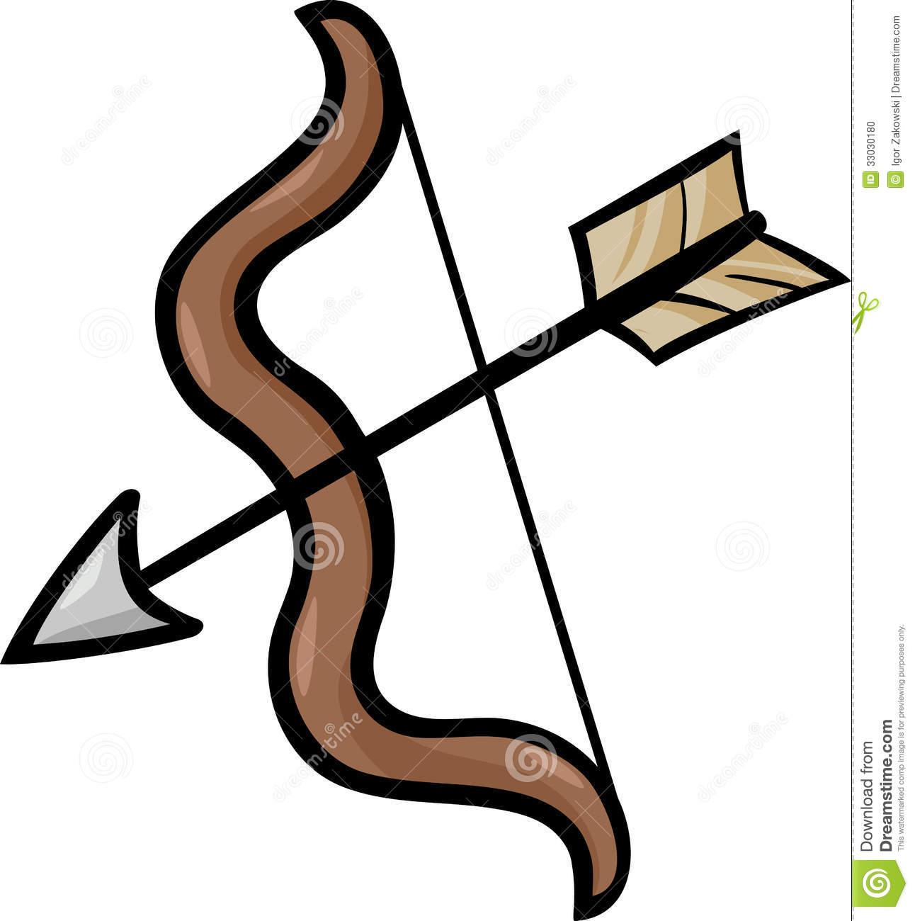 Bow clipart cartoon. And arrow clip art