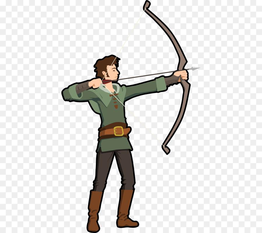 Archer clipart archery bow. And arrow clip art