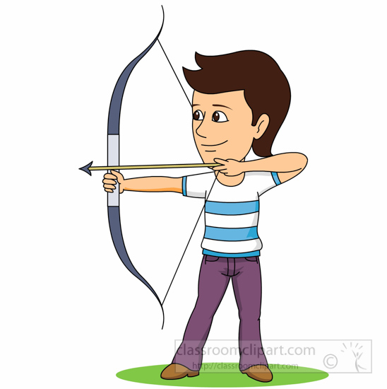 Archery clipart clip art. Clipartandscrap