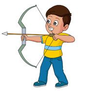 Archery clipart clip art. Free sports pictures graphics
