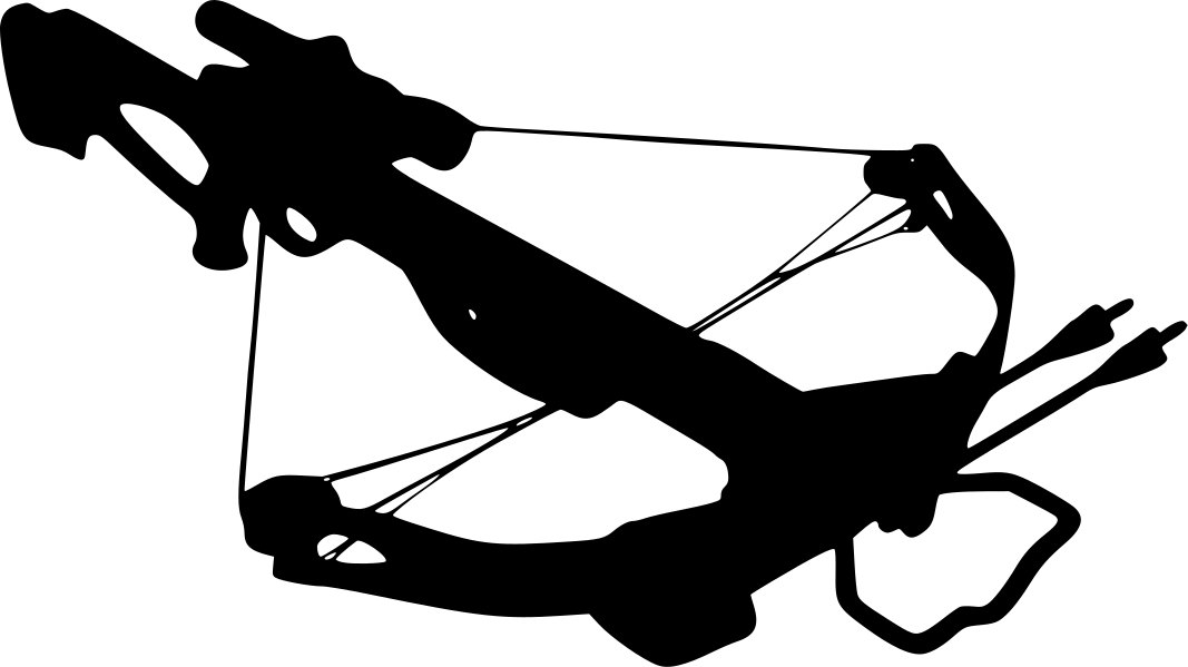 Because daryl said so. Archery clipart cross bow