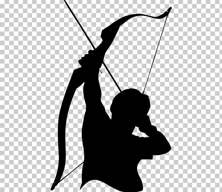 Archery clipart definition. Png black and white