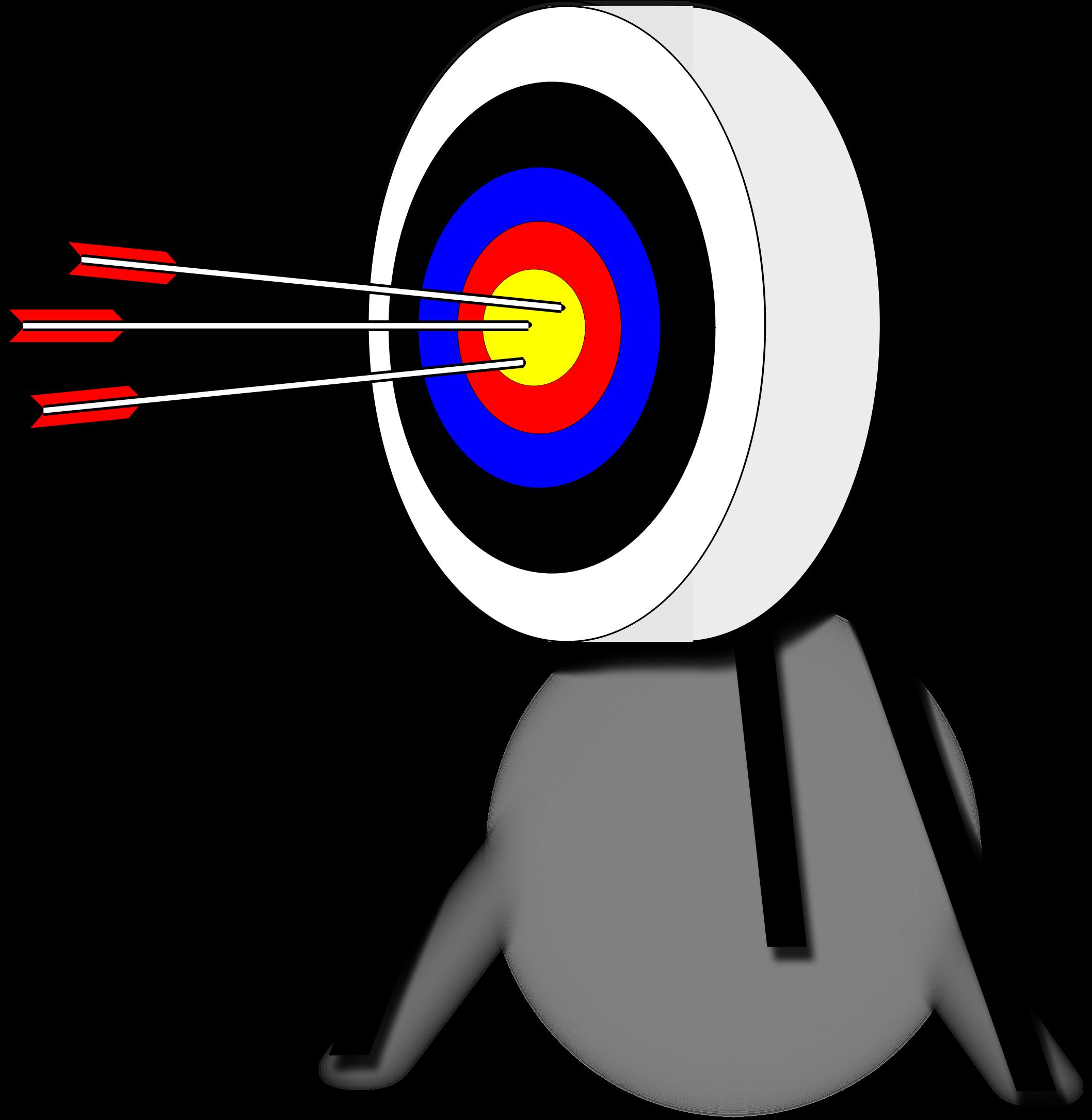 Bullseye clipart target clipart. Archery cilpart exclusive