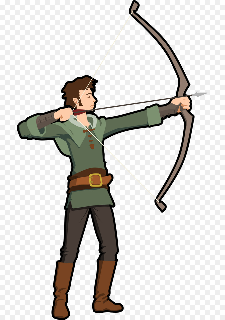 Bow and arrow hunting. Bows clipart archery