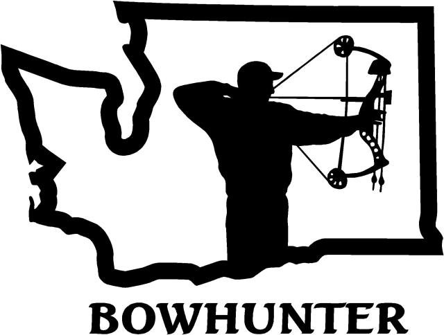 Free hunting bow cliparts. Hunter clipart archery