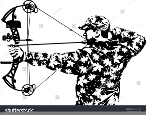 Bow free images at. Archery clipart hunting