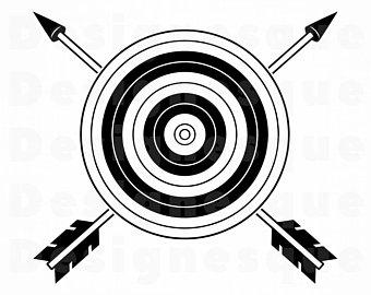 Archery clipart logo. Etsy