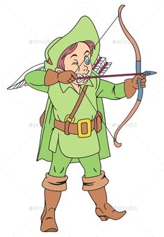 Archery clipart medieval archery. Baby angels with bows