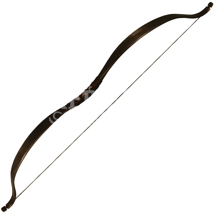 Bows clipart medieval. Ready for battle bow