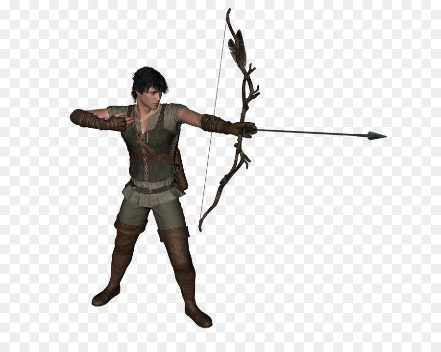 Archery silhouette clip art. Archer clipart medieval archer