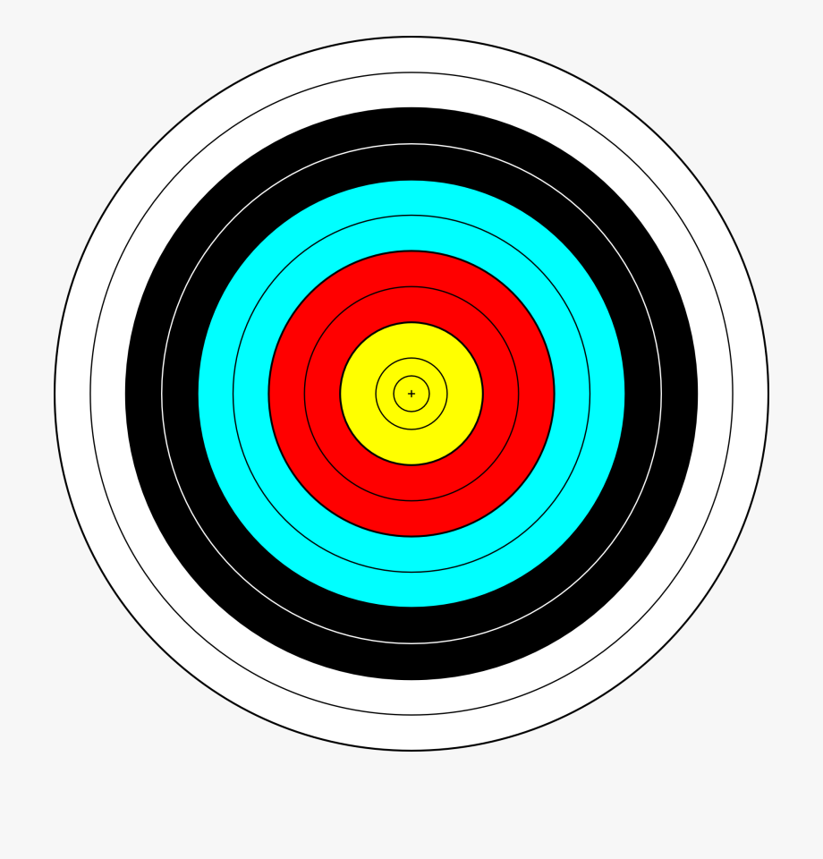 Target free cliparts on. Archery clipart shooting range
