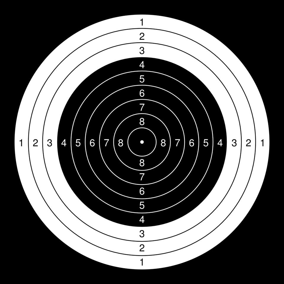 Public domain clip art. Archery clipart shooting range