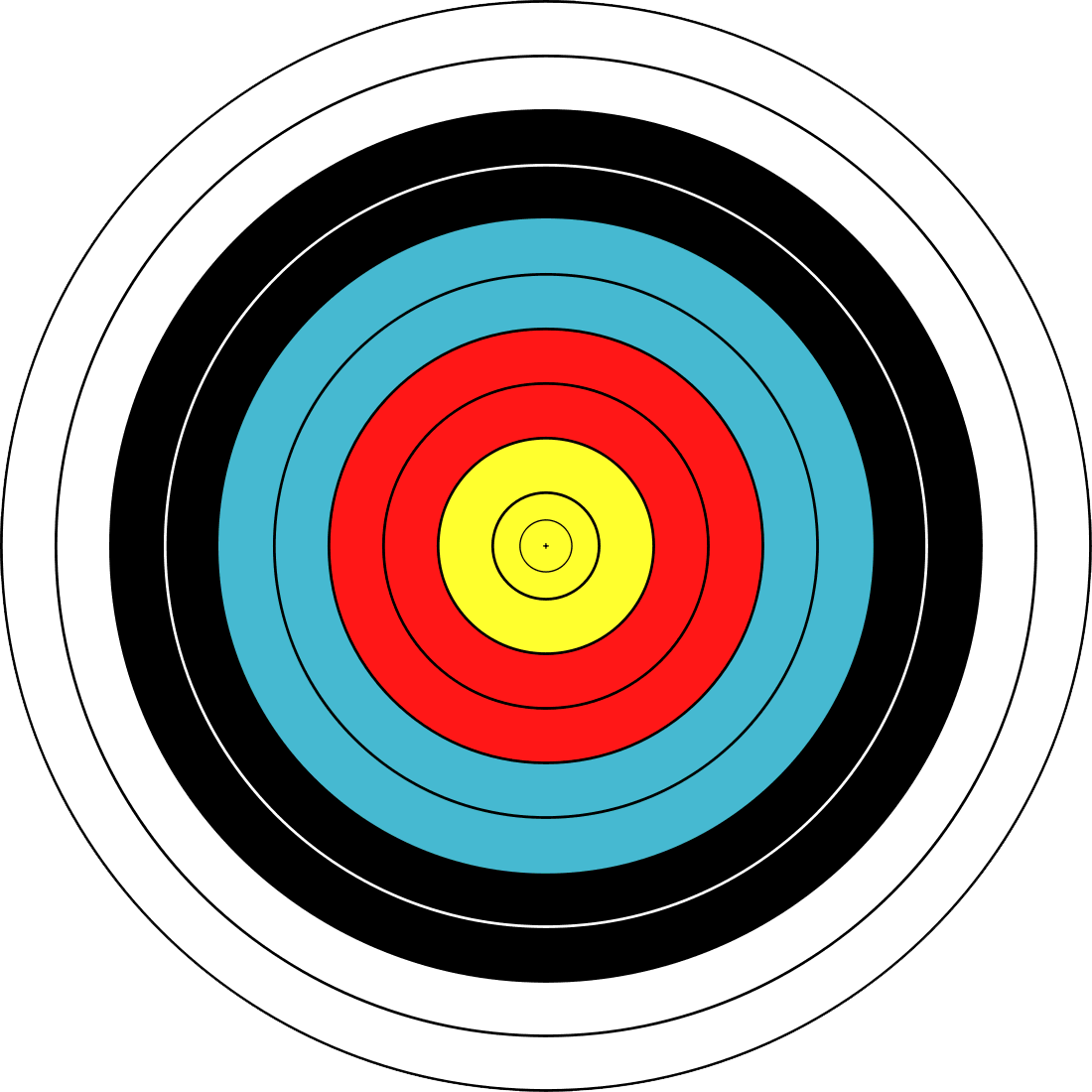 Jersey city official site. Archery clipart shooting range