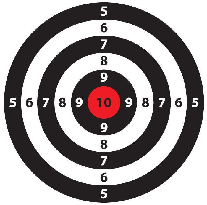 best targets images. Archery clipart shooting range