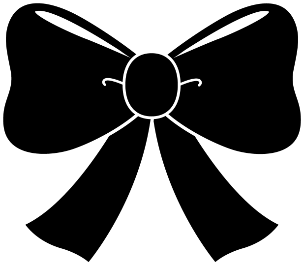 Hair bow clip art. Archery clipart silhouette