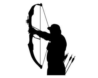 Unusual ideas design archery. Archer clipart hunter