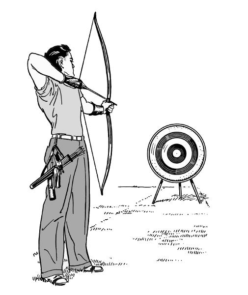 Archery clipart sport. Free cliparts download clip