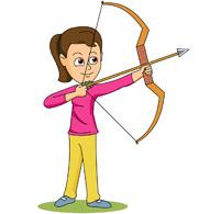 Sports free archery to. Archer clipart kid