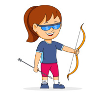 Archery clipart sport. Sports free to download