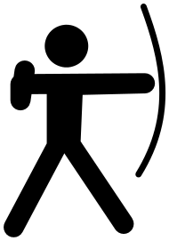 Archery clipart sport. Obr zky pinterest