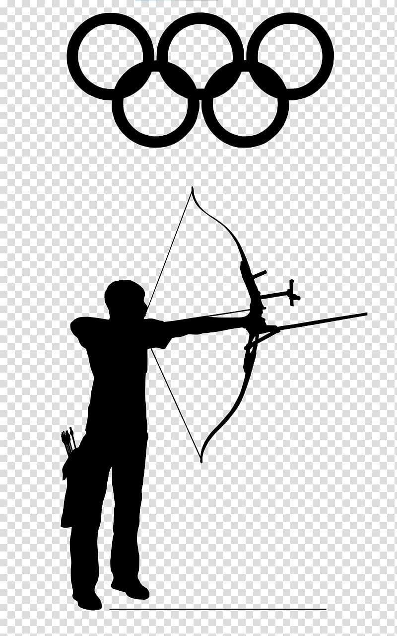 Archery clipart sport. Olympic games bow and
