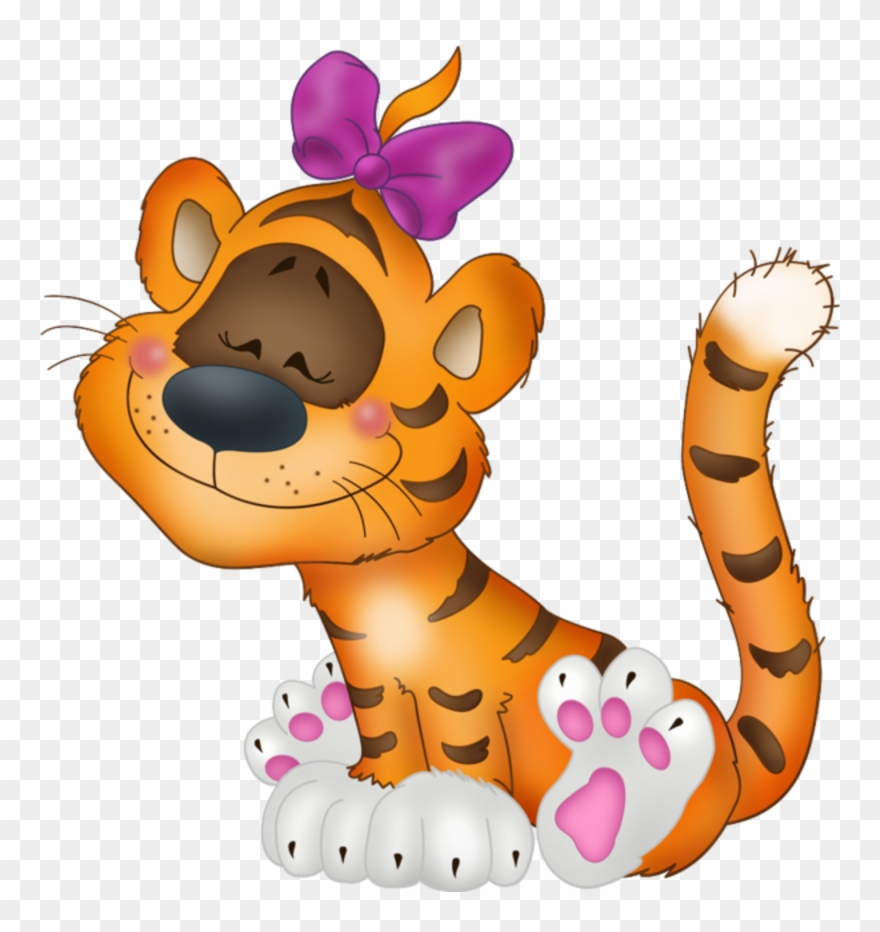Tempo with a bow. Archery clipart tiger