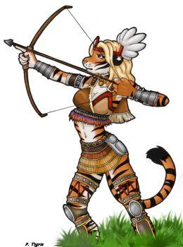 Archery clipart tiger. Novorossisk spondonicles deviantart dw