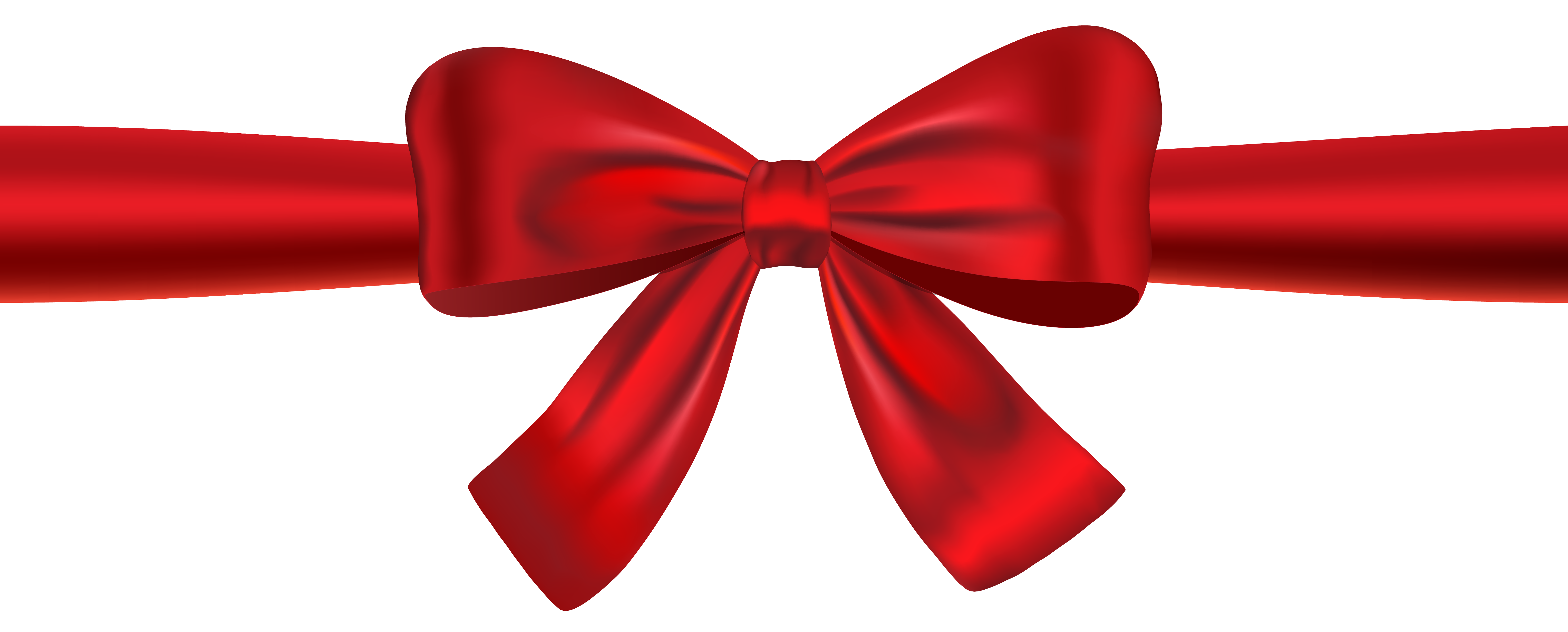 Bows clipart ribbon. Red and bow png