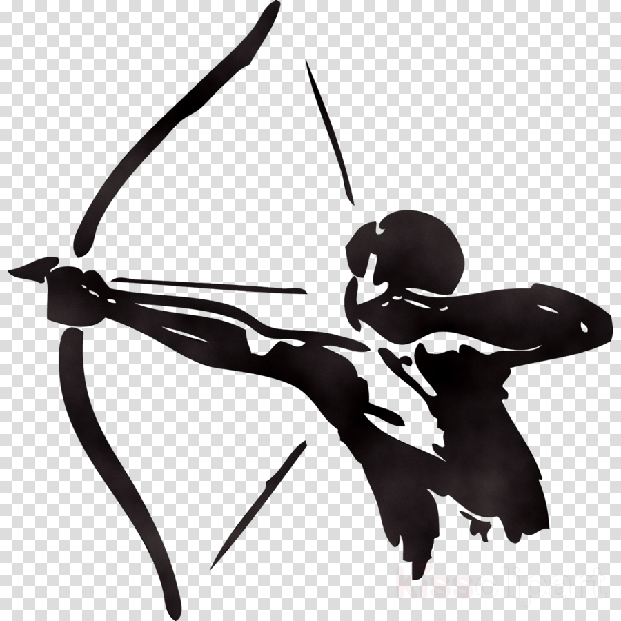 And archery transparent . Hunting clipart bow arrow