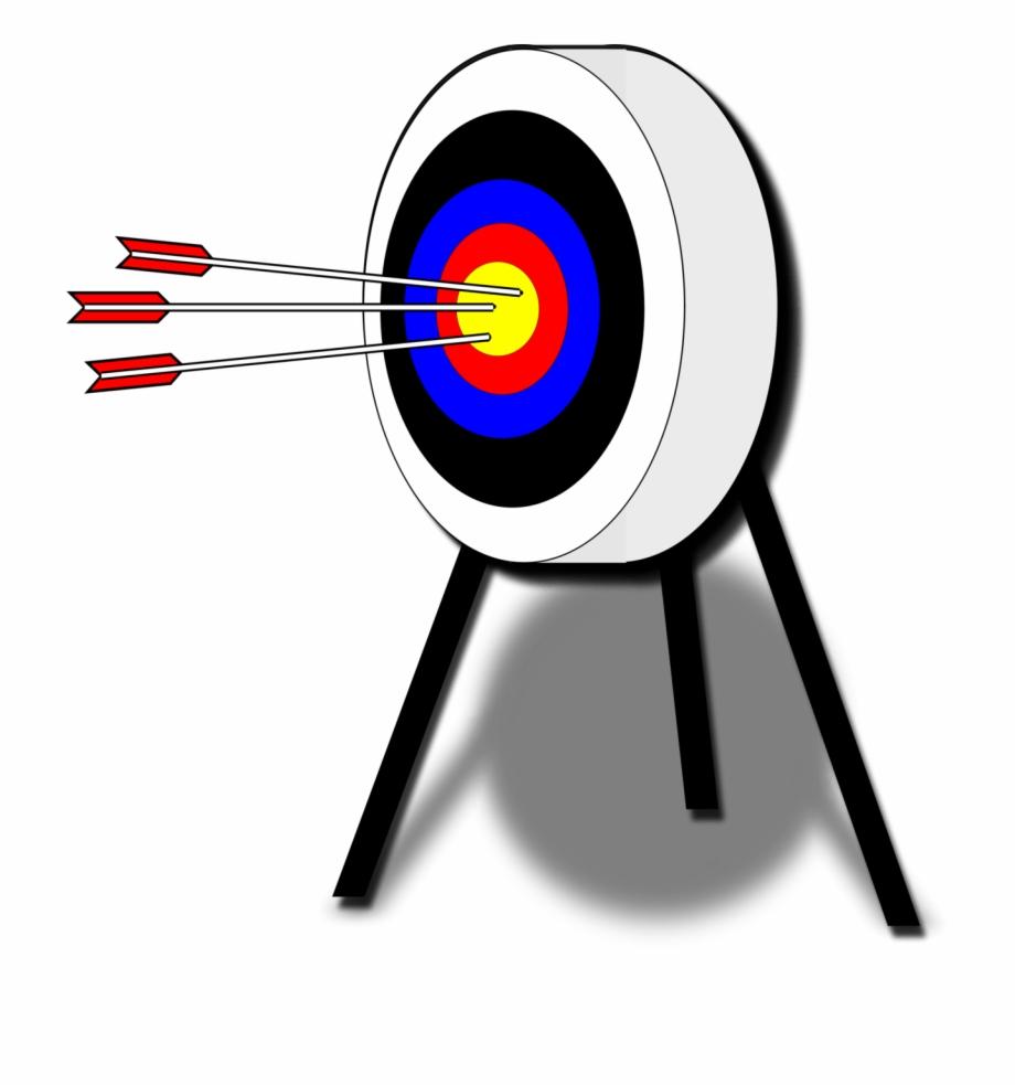 Target free . Archery clipart transparent