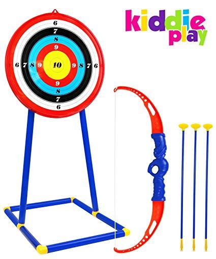 Archery clipart youth archery. Kiddie play toy set