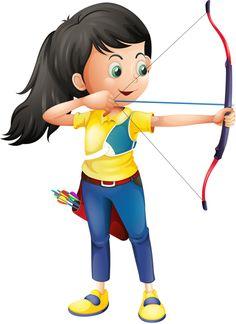 Kids clipartfest clipartix . Archery clipart youth archery