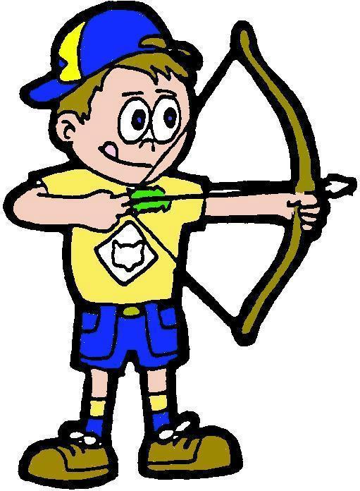 Archery clipart youth archery. Michigan crossroads council cub