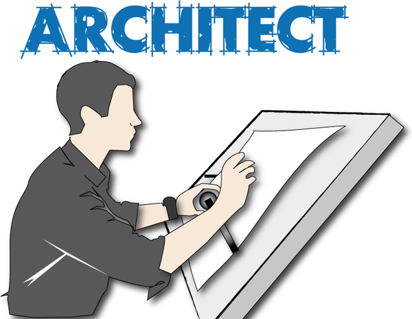 Architect clipart. Station