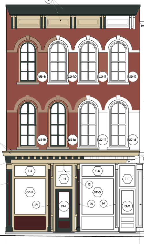 Coburn block location dunkirk. Architect clipart architect office