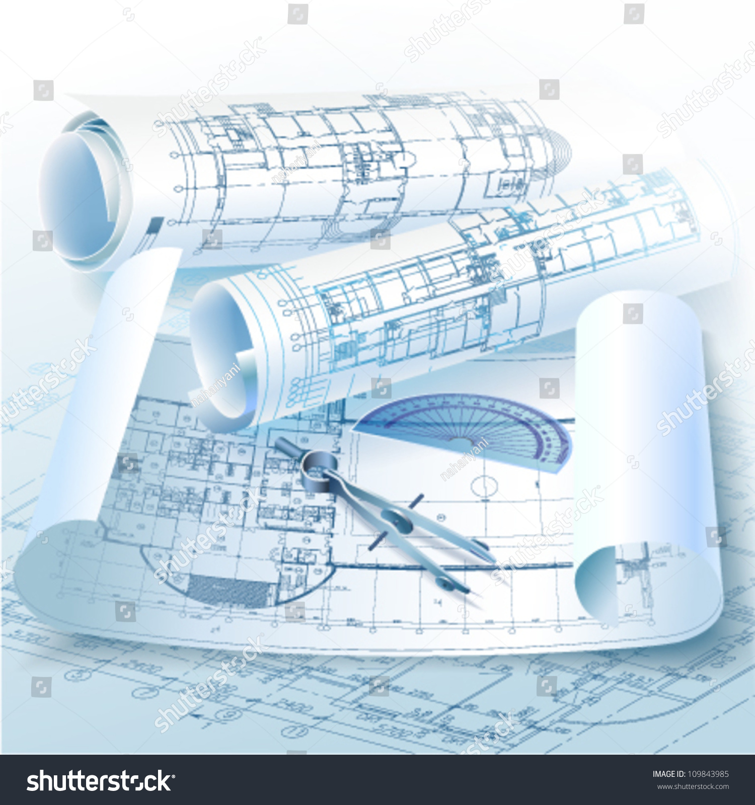 Architecture technical drawing pencil. Architect clipart architect tool