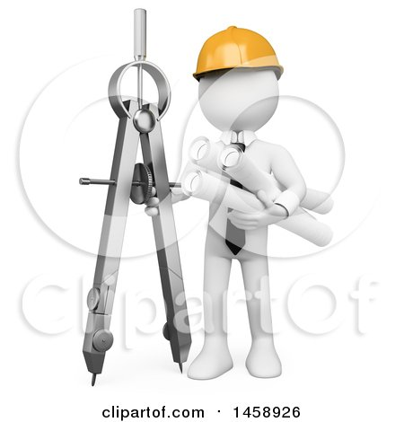 Architect clipart architect tool. Compass architecture pencil and