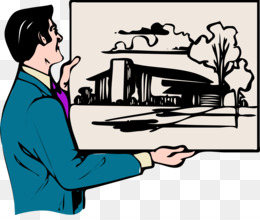 Architectural drawing painting clip. Architect clipart architecture