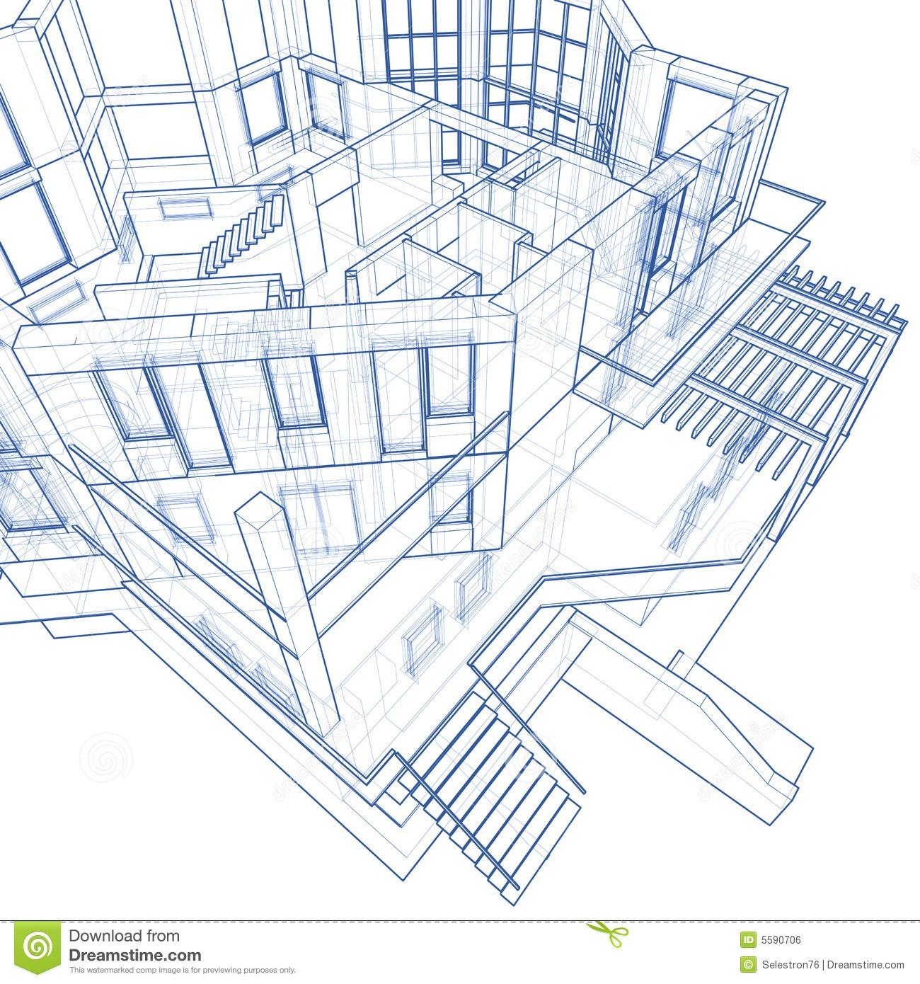 House best of architecture. Architect clipart blueprint