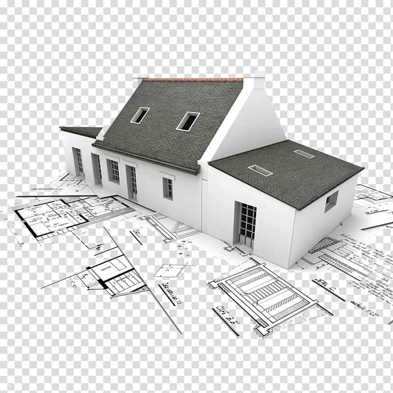 White and gray concrete. Planning clipart architecture construction