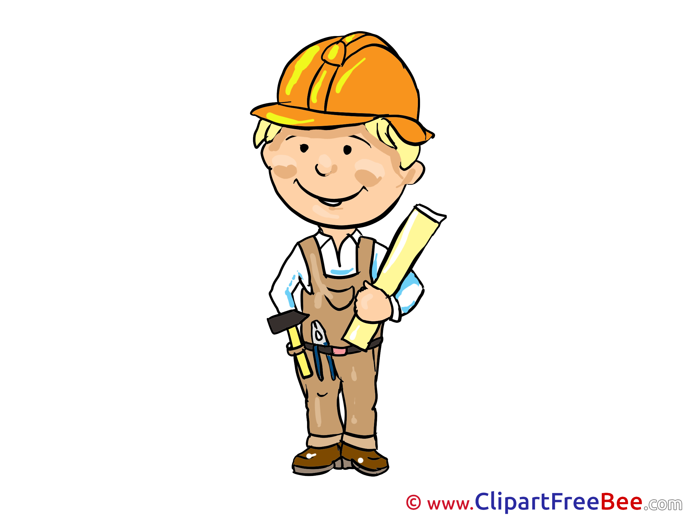 Architect clipart boy. Printable illustrations for free