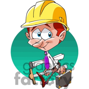Character panda free images. Architect clipart boy